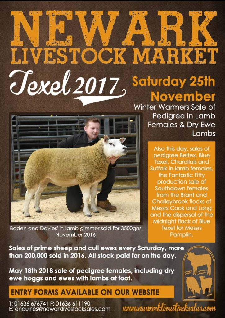 Entry forms available for Newark Winter Warmers sale