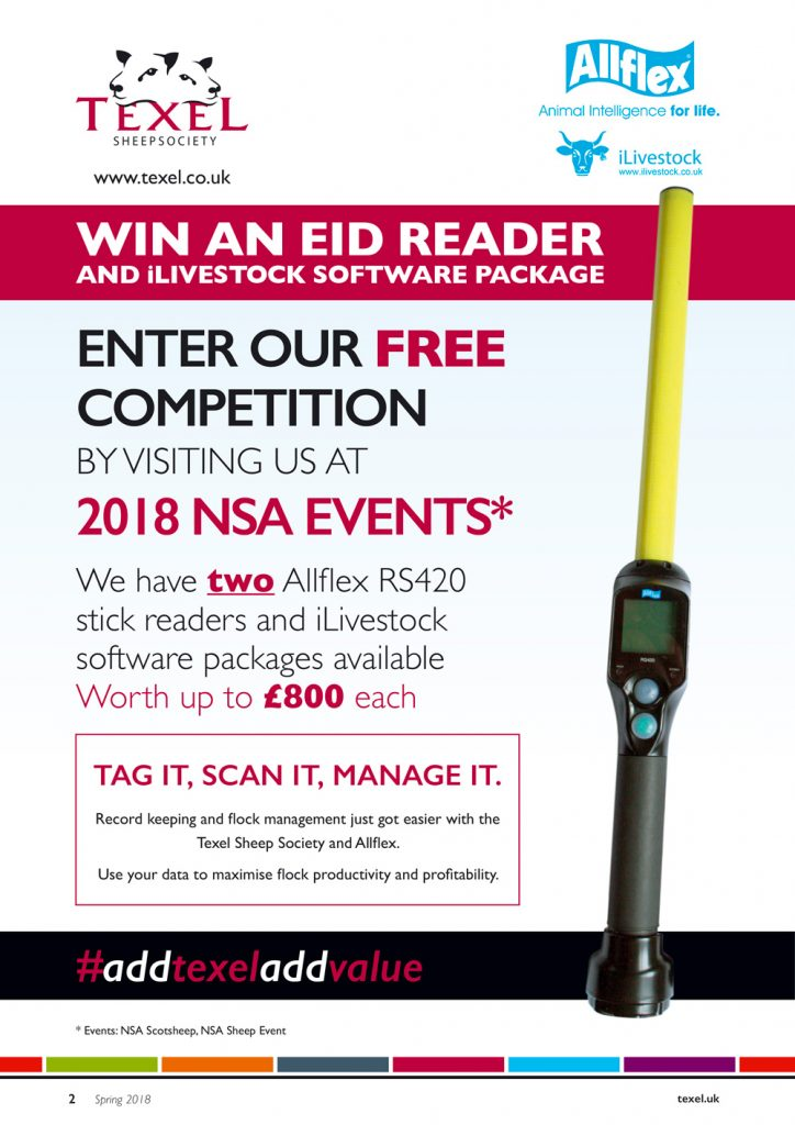 Win an EID reader with Texel and Allflex